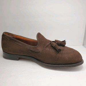 Alden | Brown Suede Leather Loafers Shoes 9